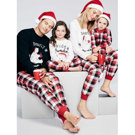 sweetlife christmas sleepwear family matching pajamas set for mom dad baby - Walmart Christmas Pajamas