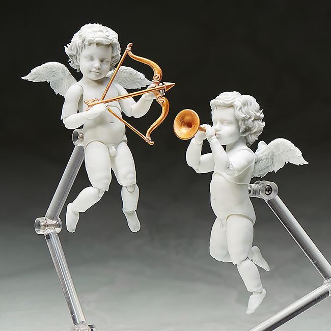 "Max Factory Figma Angel Statues ""Cupid"" The Table Museum Action Figure"