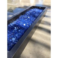 "Element Cobalt Blue Reflective 1/4"" Fire Glass"