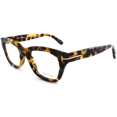 (TOM FORD Eyeglasses FT5178 055 Coloured Havana 50MM)