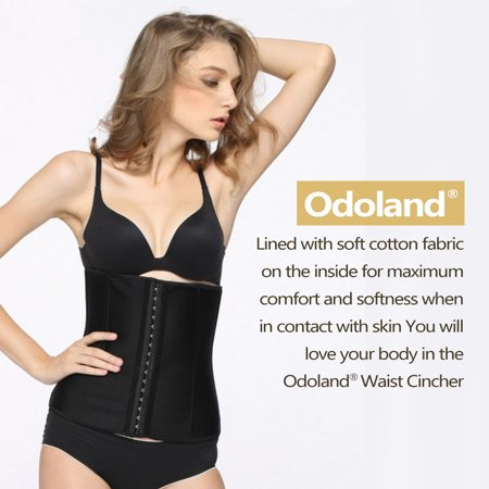 97f09f2388 Women Body Shaper Latex Sport Girdle Waist Training Corset Waist Shaper  Underbust Shapewear Size S ...