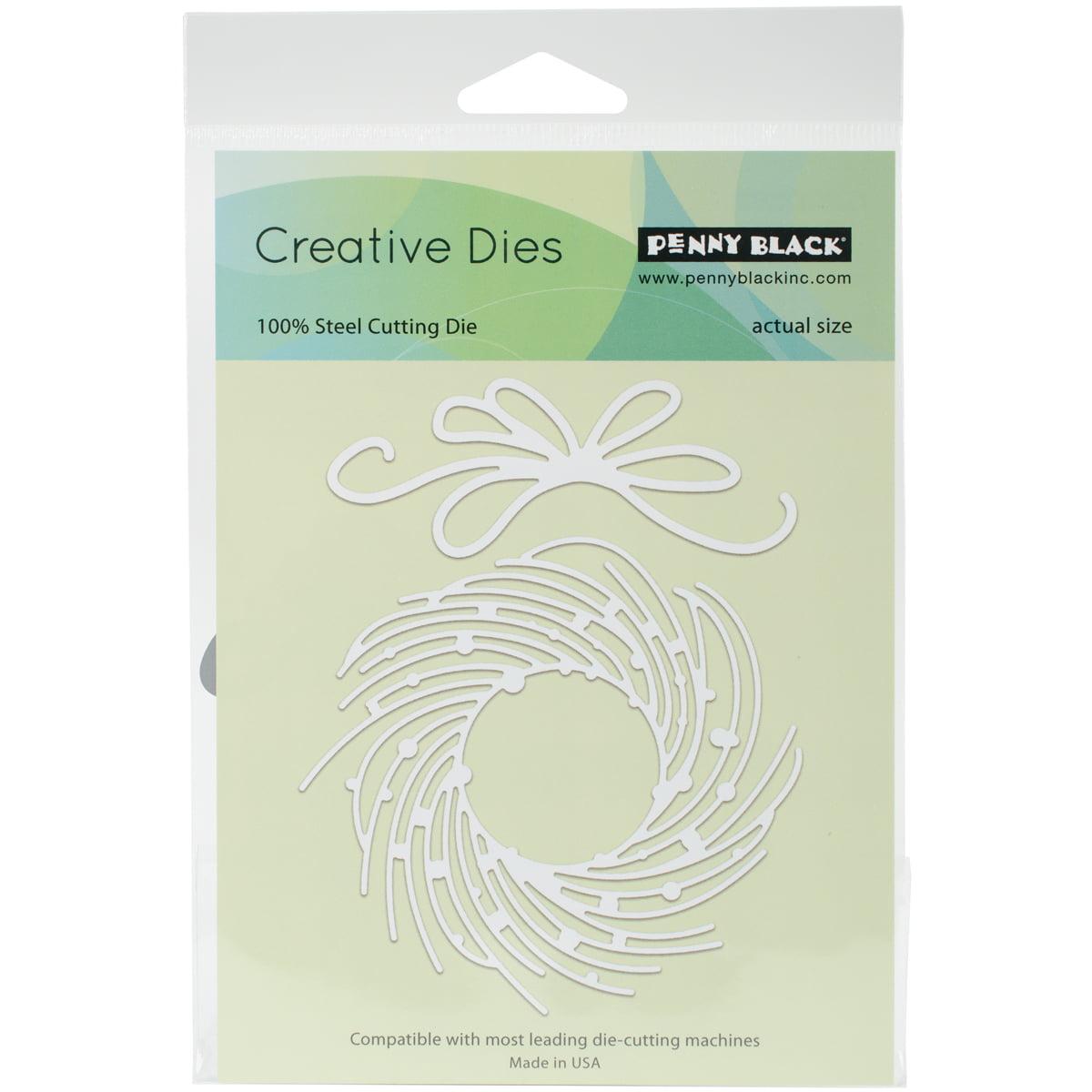 Penny Black Creative Dies, Whirl Wreath