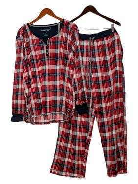 Mint Green Pajama Top w Cat Pocket Decal; Women/'s Medium Camp Shirt Style Short-Sleeve Cotton Blend