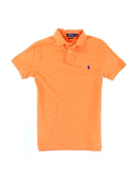 864b7216fd3 Product Image Polo Ralph Lauren NEW Orange Men Size Small S Slim Fit Polo  Rugby Shirt