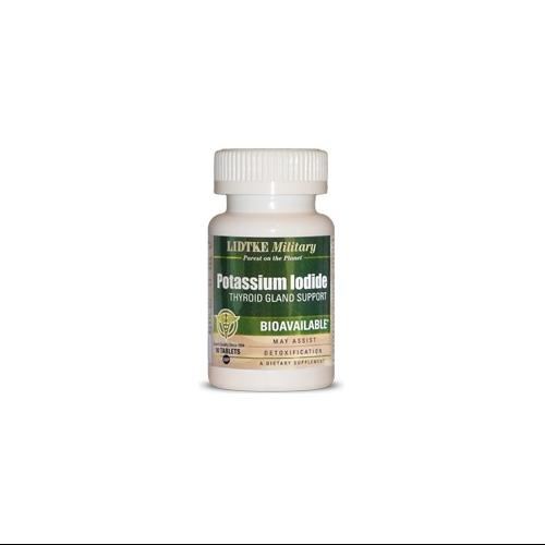 Potassium Iodide LIDTKE Military 90 Tabs by