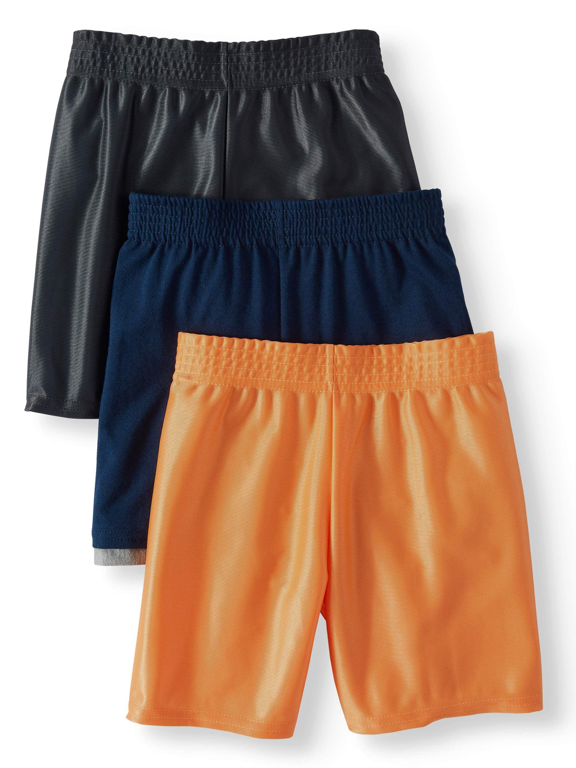 bd412d6459 Garanimals - Garanimals Dazzle & Jersey Hangdown Athletic Shorts, 3pc  Multi-Pack (Toddler Boys) - Walmart.com
