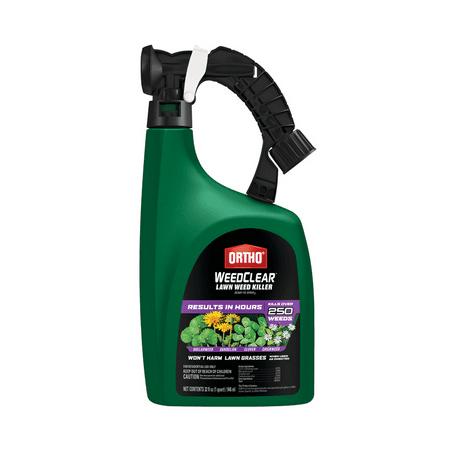Ortho WeedClear Lawn Weed Killer RTU Liquid 1 gal., Kills Over 200 Weeds