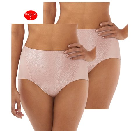 83ff6ce71016 Bali - Bali Ultra Control Cottony Brief 2-Pack, Color: Sheer Pale Pink, Size:  L --- PACK OF 4 (Women's Panties - Original Company Packing) - Walmart.com