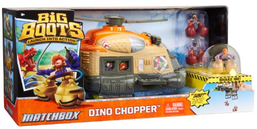 Matchbox Big Boots Dino Chopper Vehicle