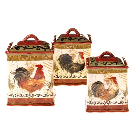 (Fleur De Lis Living Julianne 3 Piece Kitchen Canister Set)