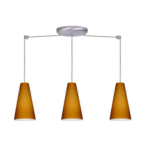 Besa Lighting Cierro 3 Light Linear Pendant