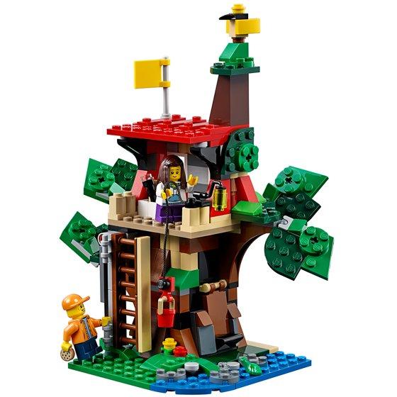 Lego Creator Treehouse Adventures 31053 Walmart