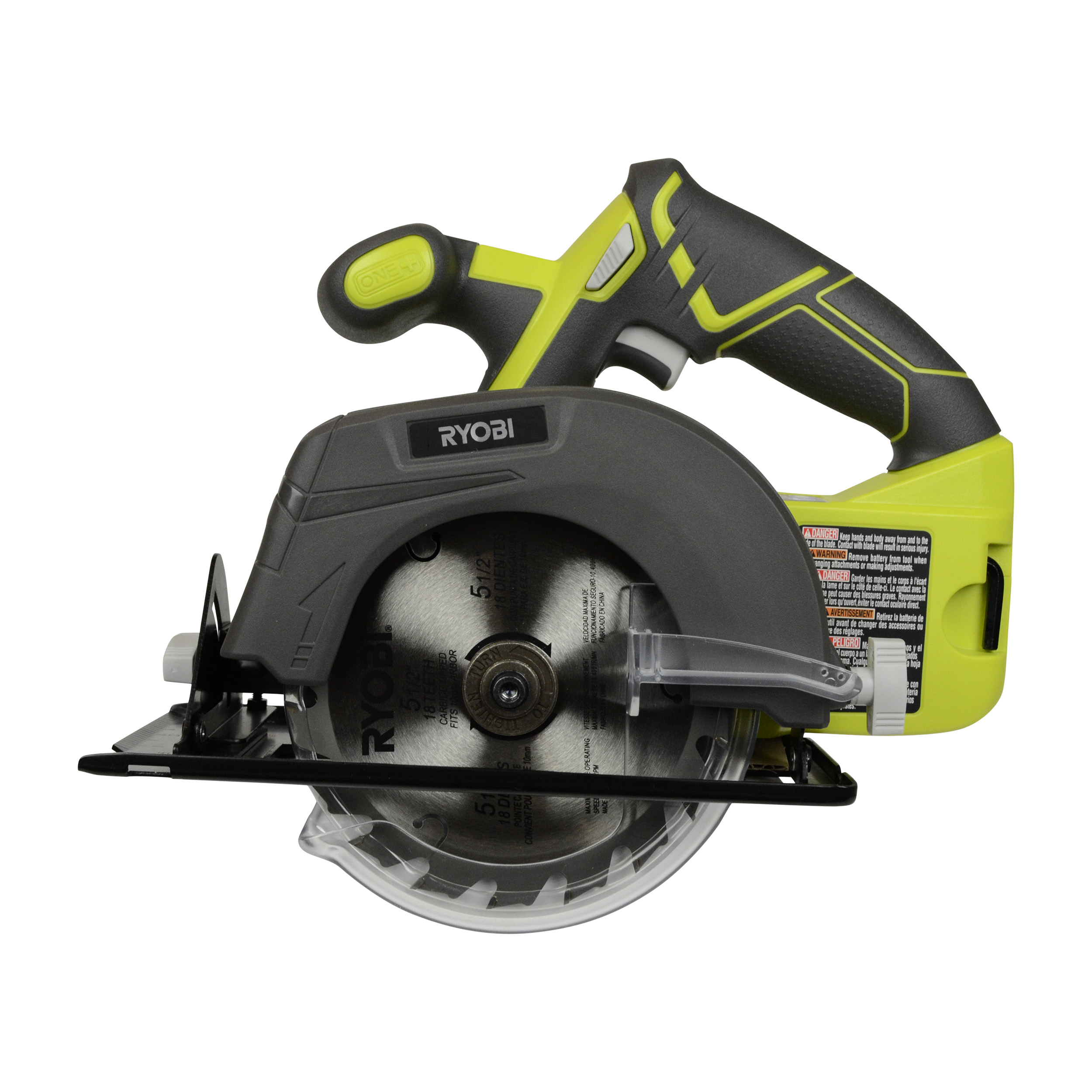 "Ryobi Tools P505 18V ONE+ 5-1 2"" Cordless Circular Saw, Tool Only by"