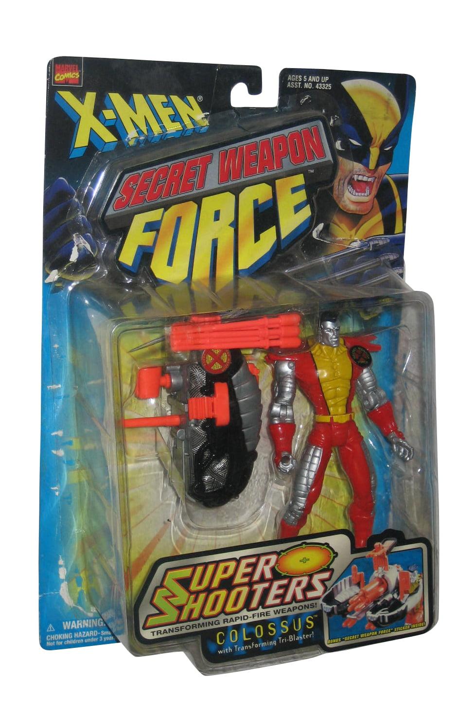 Marvel X-Men Secret Weapon Force Colossus Super Shooters Toy Biz Figure by Toy Biz