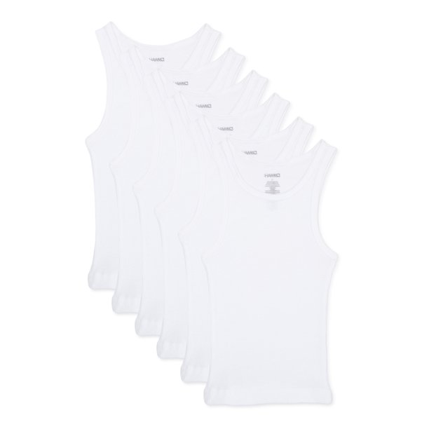 Tony Hawk Toddler Boy Undershirt, 6-Pack A Shirts