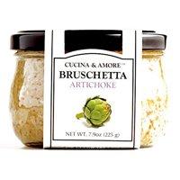 Cucina & Amore Artichoke Bruschetta 7.5 oz each (2 Items Per Order)