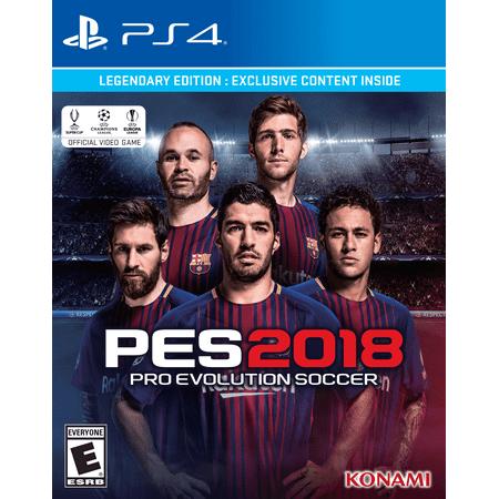 Pro Evolution Soccer 2018 Legendary Edition PlayStation 4