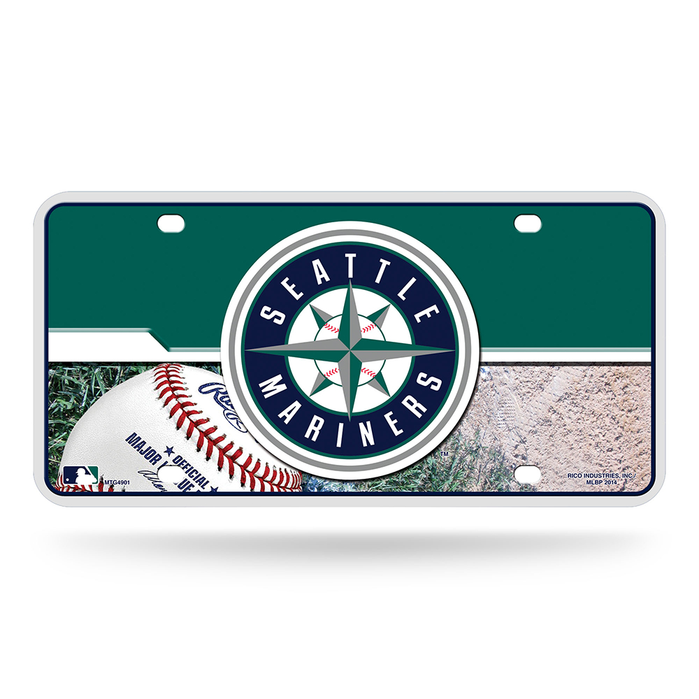 Seattle Mariners MLB Metal Tag License Plate