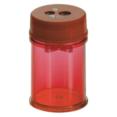 Pencil/Crayon Sharpener,Red,PK8 OFFICEMATE 30240PK