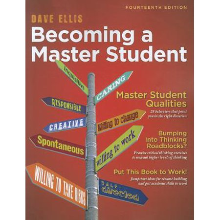 Becoming a Master Student (Textbook-Specific Csfi), Dave