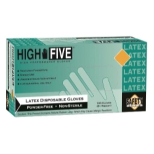 Micro Flex L563 High Five Powder-free Industrial Grade Latex Gloves, Large
