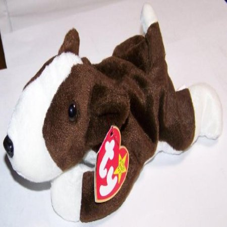 Toy Bull Terrier - Bruno the Bull Terrier Dog - MWMT Ty Beanie Babies