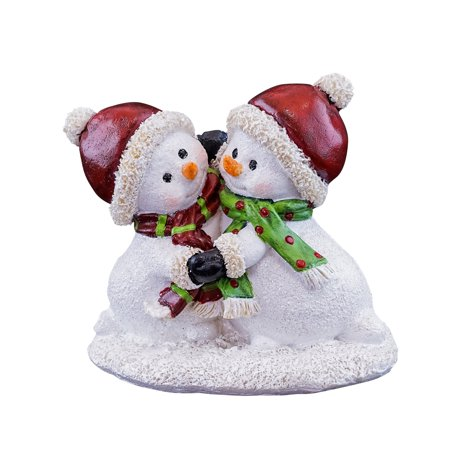 - Top Collection Miniature Fairy Garden Snowmen Dancing