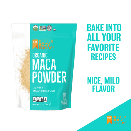 BetterBody Foods Organic Maca Power 12oz