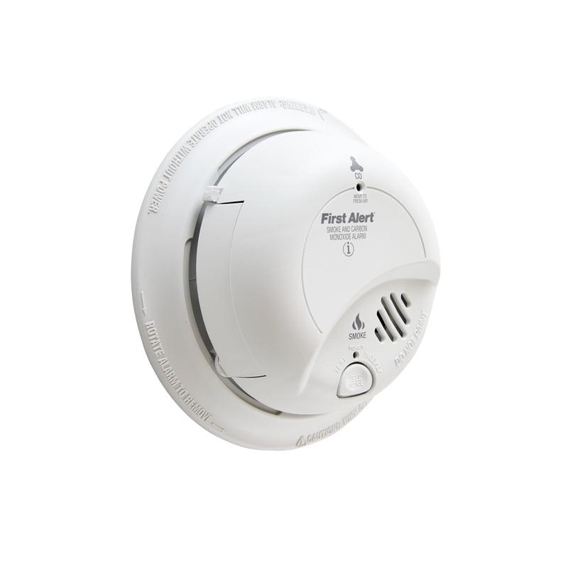 First Alert BRK SC9120B Hardwire Combination Smoke//Carbon Monoxide Alarm 12 pack