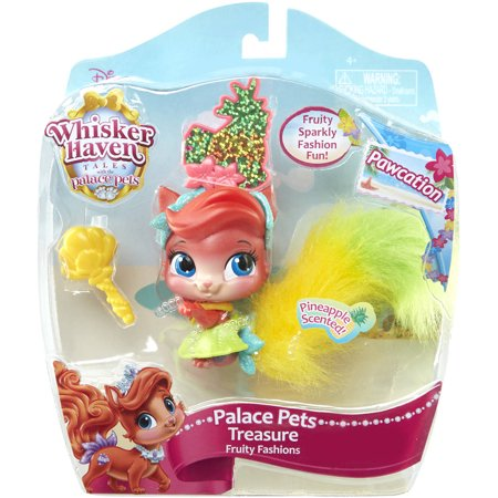 Jakks Pacific Palace Pets  Pawcation Fruity Fashions  Treasure