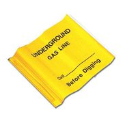 Presco Products Co Marking Flag, Yellow, 4521YBK509-188