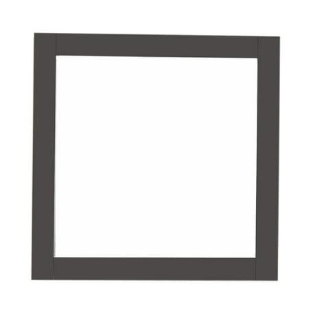 Bellaterra Home Solid wood frame mirror-espresso