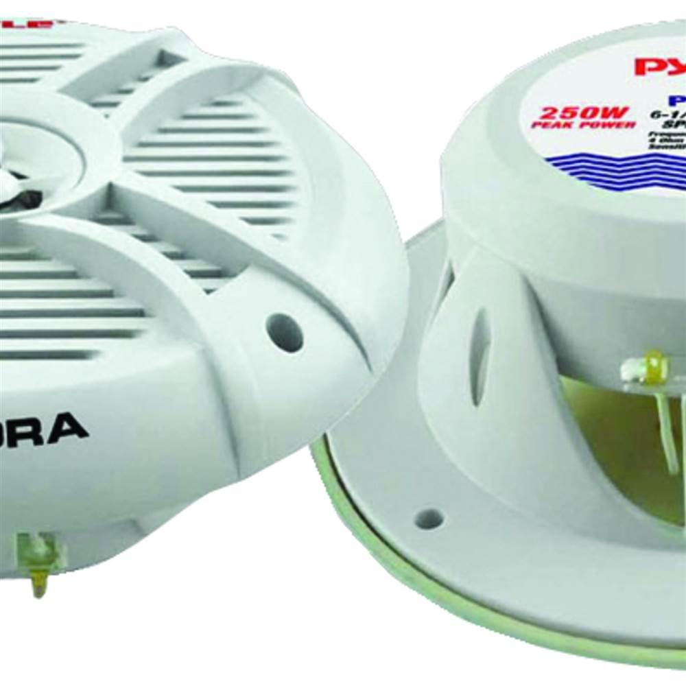 """2-Way Marine Speakers (6.5""""; 250 Watts)"""