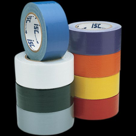 ISC Racers Tape RT2008 Top-Grade Colored Duct Tape - 2in. x 90ft. - Orange - Colored Duct Tape