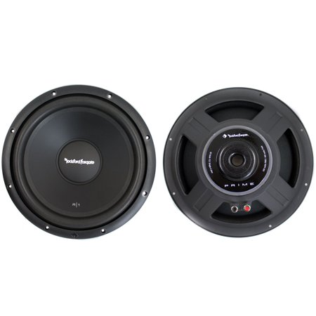 2  Rockford Fosgate R1s4 12 12   Prime Series 600W 4 Ohm Svc Subwoofers R1s412