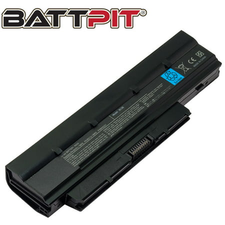 BattPit: Laptop Battery Replacement for Toshiba Dynabook N300 Series, PA3820U-1BAS, PA3821U-1BAS, PABAS231 (10.8V 4400mAh 48Wh)