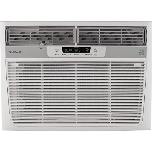 Frigidaire 18,000 BTU 230V Window-Mounted Median Air Conditioner with Full-Function Remote Control