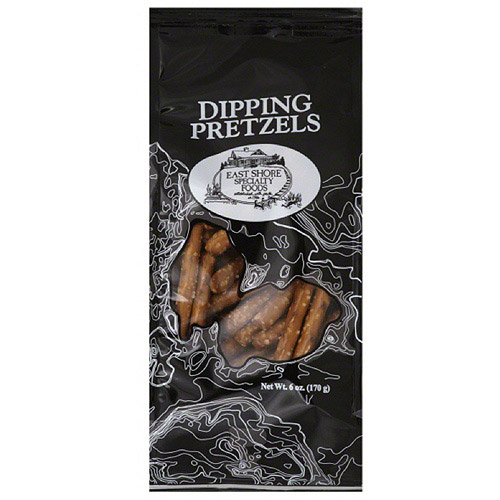 East Shore Specialty Foods Dipping Pretzels, 6 oz, (Pack of 18)