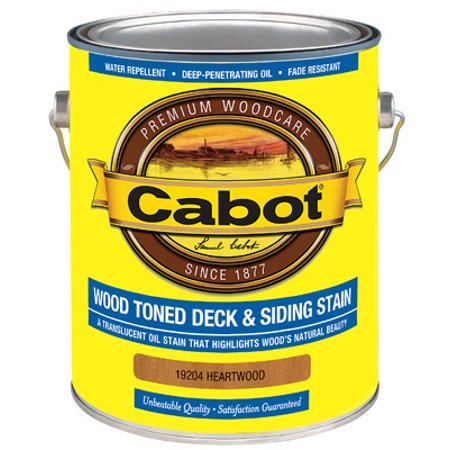 Wood Toned Deck & Siding Stain, Heartwood, 1-Gal. - Pack of