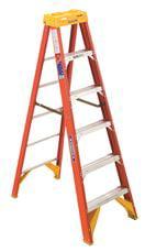 Werner Type Ia Pro Grade Fiberglass Step Ladder, 6' by Werner Ladder