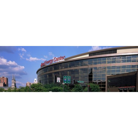 Multi Purpose Arena In A City Xcel Energy Center St Paul Minnesota Usa Canvas Art   Panoramic Images  6 X 18