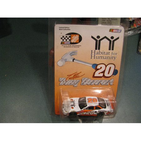 Tony Stewart  20 Habitat For Humanity Ridgid Husky Home Depot 1 64 Action Racing Collectables Arc With Yellow Rookie Stripes By  Hood And Trunk Do Not Open On    By Action Performance Ship From Us
