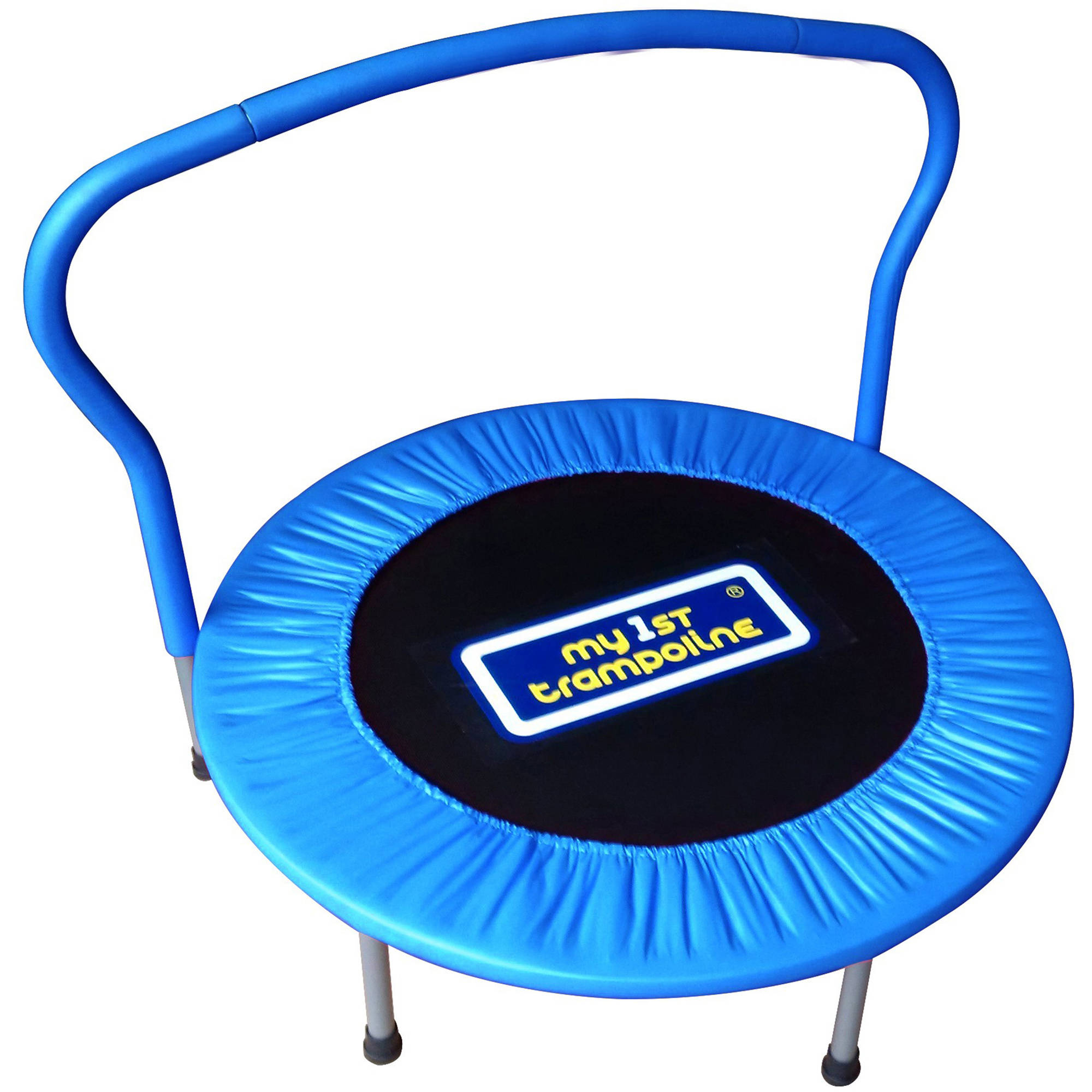 My First Trampoline 36 Inch Mini Trampoline Blue