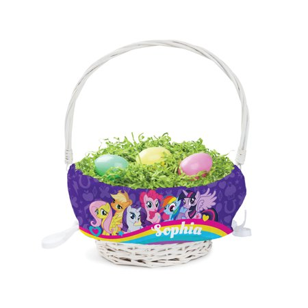 Personalized My Little Pony Easter - My Little Pony Easter Basket