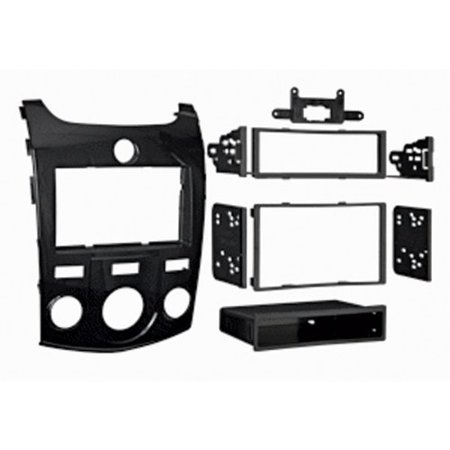 Metra 99 7338Hg Kia Forte 2010 Up In High Glossaccs Black Single Double Din Dash Kit