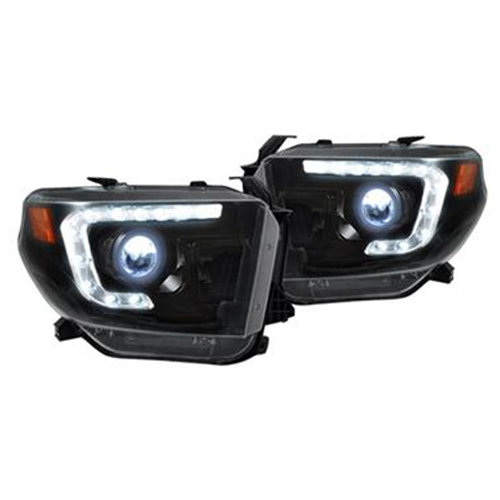 Recon Truck Accessories Projector Headlights 264294BKC