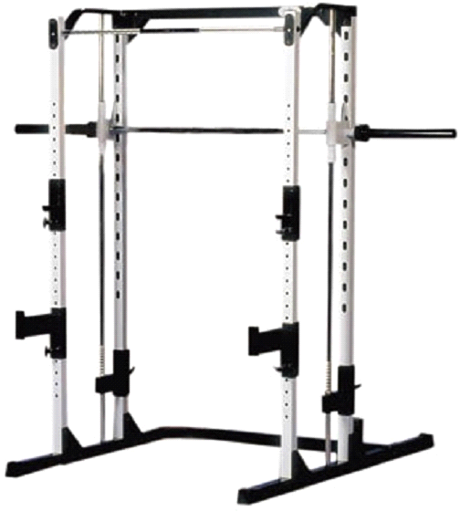 Yukon Fitness CPR-143 Caribou III Squat Lifting Machine Bench Rack by