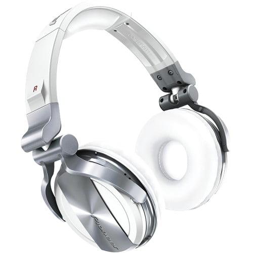 Pioneer HDJ-1500 Professional DJ Headphone - Stereo - White - Mini-phone - Wired - 32 Ohm - 5 Hz 30 kHz - Gold Plated - Over-the-head - Binaural - Circumaural - 9.84 ft Cable