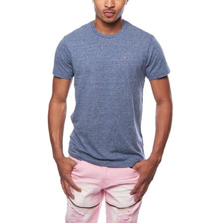 Tommy Hilfiger Mens Original Melange Crewneck Short Sleeve T-Shirt TOMMYTEE