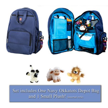 Okkatots Travel Baby Depot Diaper Bag Backpack Bonus Cloud B Rattle